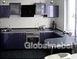 Кухонный гарнитур 109 в декоре звездное небо