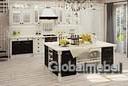 Кухня Афина Ретро массив и шпон ясеня с патиной