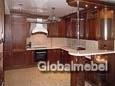 Кухня с фасадми из дерева Арена 8