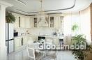 Кухня массив ясеня Де Капе с золотистой патиной, Августа 7 (G 288)