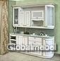 Кухня массив и шпон ясеня Бьянка