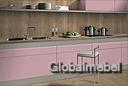 Кухня из ЛДСП Egger 3 Фламинго розовый и Кашемир серый