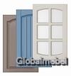 Фасады из МДФ эмали с фрезеровками 1