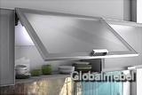 Фасады со стеклом в алюминиевой рамке