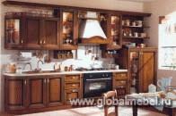 Кухни с итальянскими фасадами из дерева