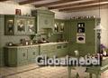 Кухня массив ясеня Флореале Верде 2