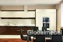 Кухня МДФ эмаль и шпон глянец G512