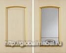 Фасады Гарда Голд массив и шпон ясеня