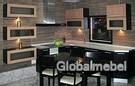 Кухня с фасадами из дерева Италия Сиена и Сиена Венге