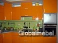 Кухонная мебель МДФ эмаль на заказ KC 706