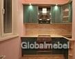 Кухня с фасадами из пластика угловая КС 546