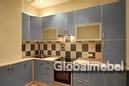 Кухня пластик с аллюминием КС 765