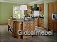 Кухня массив и шпон дуба Кент