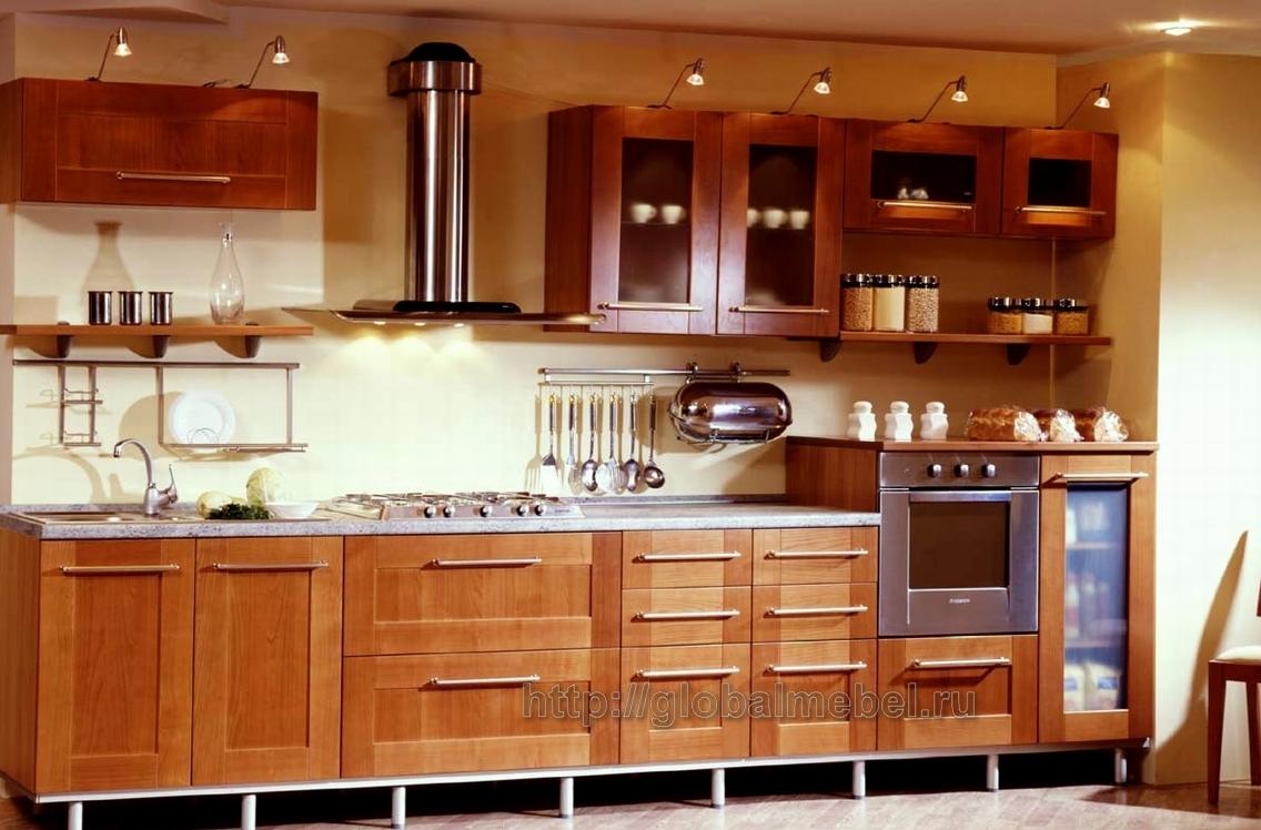 Прямая кухня своими руками 46