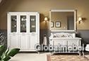 Мебель для ванной Софи Беж с итальянскими фасадами из дерева