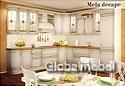 Кухня массив и шпон ореха Италия Мела Де Капе 3