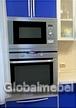 Кухня со встроенной СВЧ-печью
