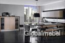 Кухня с итальянскими фасадами Оксфорд Беленый дуб