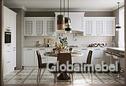 Кухня Палермо из массива и шпона ясеня