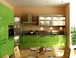 Кухонная мебель с фасадами из пластика Formica