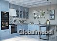 Кухня Портофино Голубой из дерева