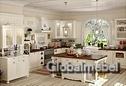 Кухня массив и шпон ясеня Прованс