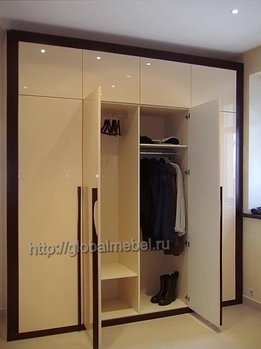 Встроенный шкаф из мдф