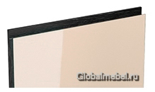 Jet-Linea HPL Бежевый глянец с интегрированной черной ручкой