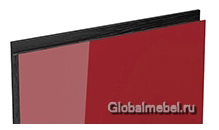 Jet-Linea HPL Бордо глянец с интегрированной черной ручкой
