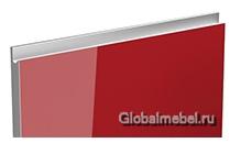 Jet-Linea HPL Бордо глянец с интегрированной ручкой цвета металлик