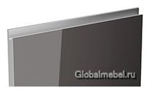 Jet-Linea HPL Графит глянец с интегрированной ручкой цвета металлик