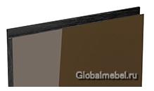 Jet-Linea HPL Шоколад глянец с интегрированной черной ручкой
