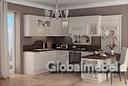 Кухонная мебель Аттика из массива и шпона дуба