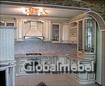 Кухня с российскими фасадами из дерева, Доминика