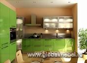 Кухня из пластика Formica