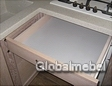 Выдвижной ящик над духовкой для кухни